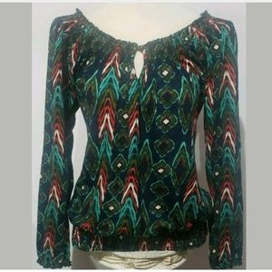 Lucky Brand Women's Top Blouse Size Medium